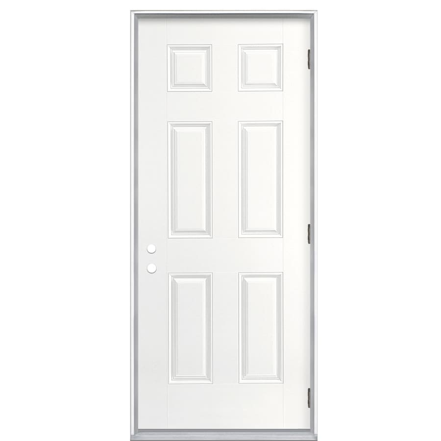 ReliaBilt 36-in Outswing Fiberglass Entry Door