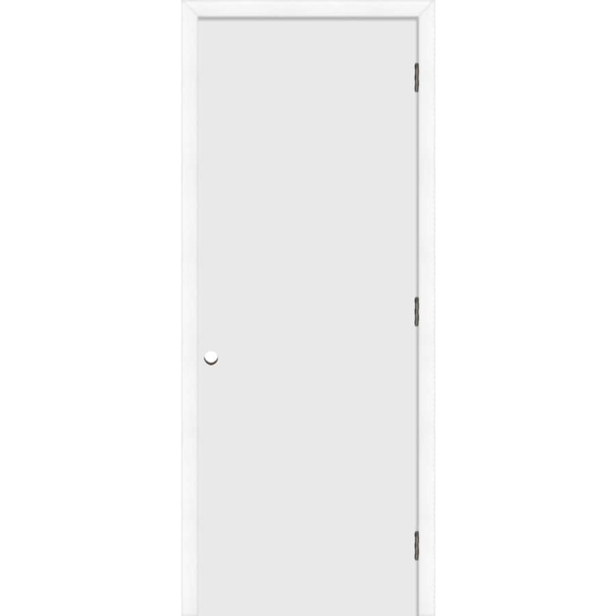 Shop reliabilt prehung hollow core flush interior door for 18 x 80 closet door