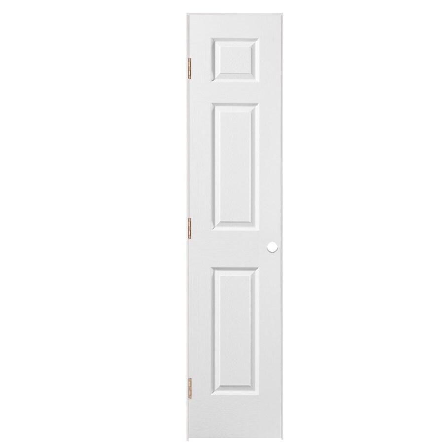Masonite Prehung Hollow Core 6-Panel Interior Door (Common: 18-in x 80-in; Actual: 19.5-in x 81.5-in)