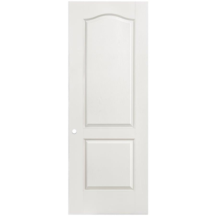 Masonite Hollow Core 2-Panel Arch Top Slab Interior Door (Common: 30-in x 80-in; Actual: 30-in x 80-in)