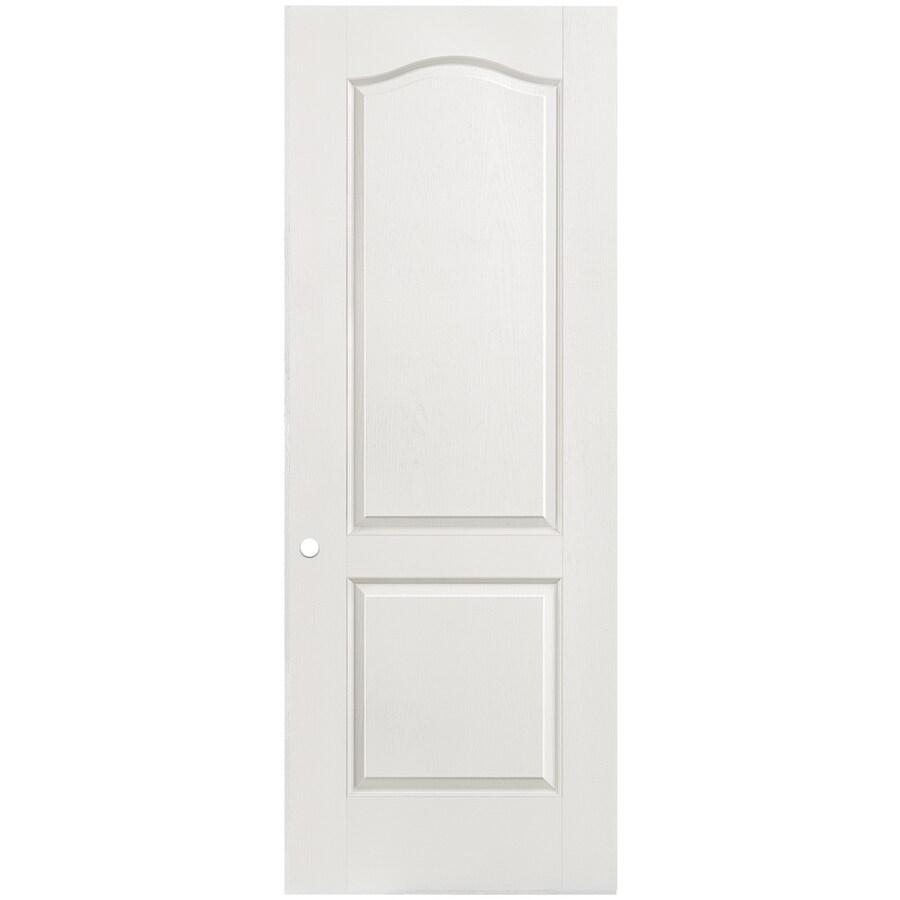 Masonite Hollow Core 2-Panel Arch Top Slab Interior Door (Common: 36-in x 80-in; Actual: 36-in x 80-in)