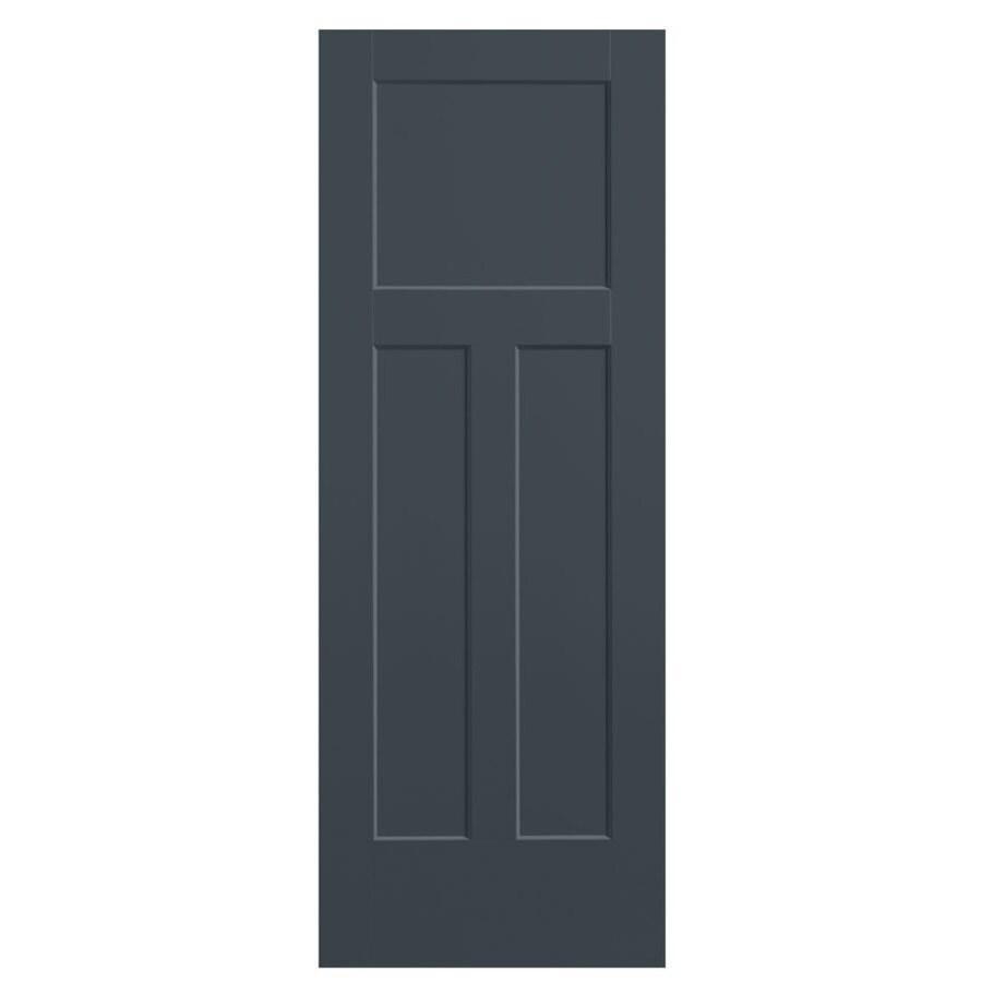 Masonite Expo Slate Hollow Core 3-Panel Craftsman Slab Interior Door (Common: 36-in x 80-in; Actual: 37.5-in x 81.5-in)