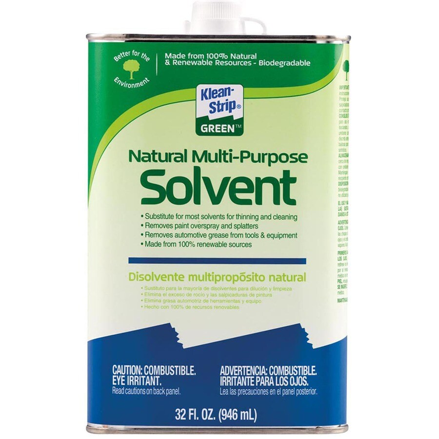 Klean-Strip Ksg Natural Multi-Purpose Solvent Quart