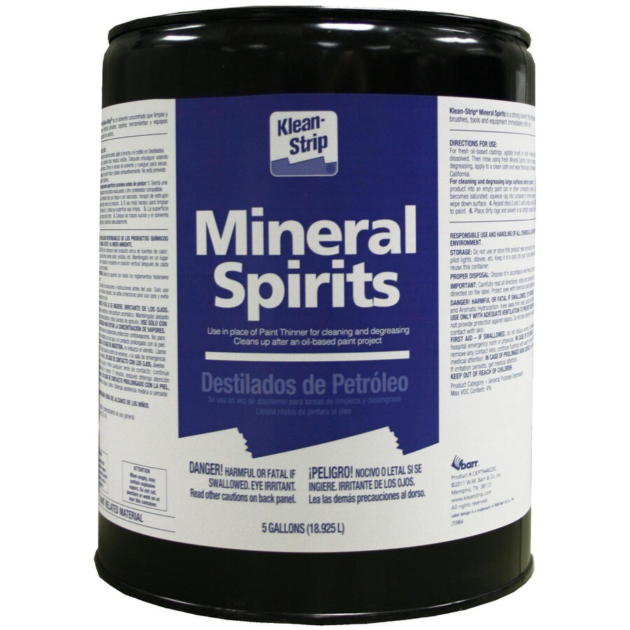 Klean-Strip Ks Mineral Spirits Paint Thinner 5 Gl-Sc