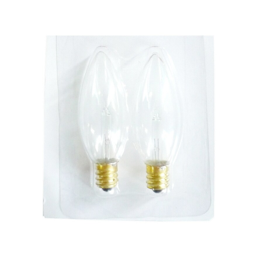 Holiday Living 2-Count Clear Replacement Bulbs