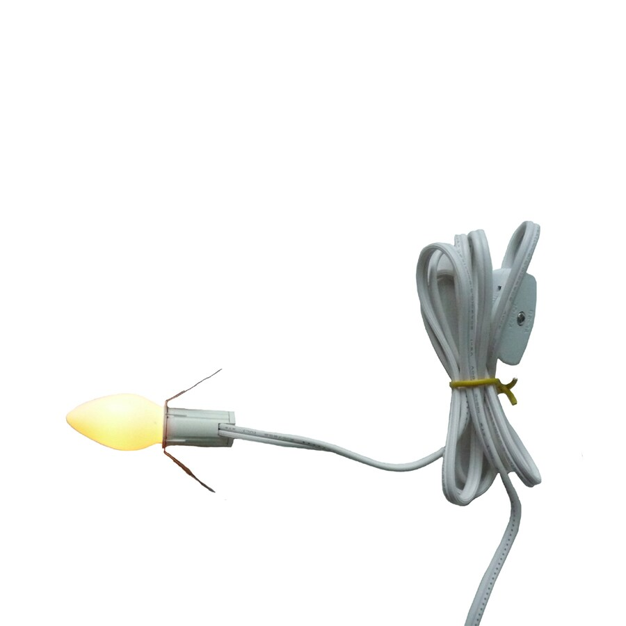 Holiday Living 0-ft White C7 Copper Wire String Plug-in Christmas String Lights