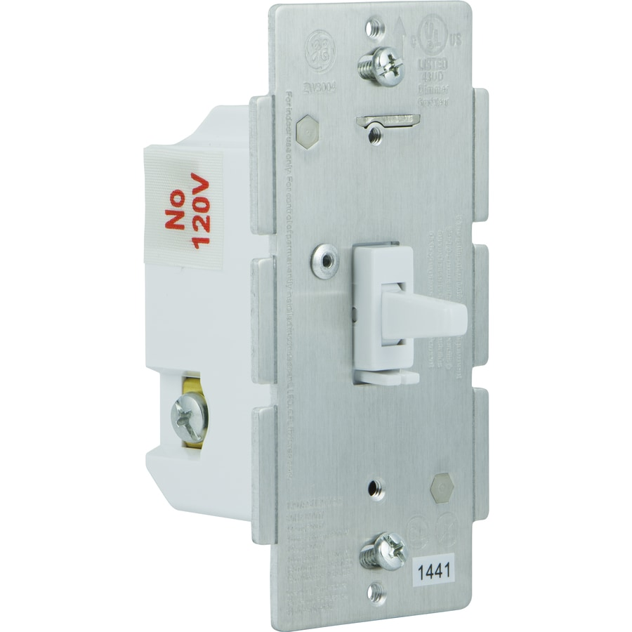 GE Z-Wave White Wireless Toggle Dimmer Light Switch
