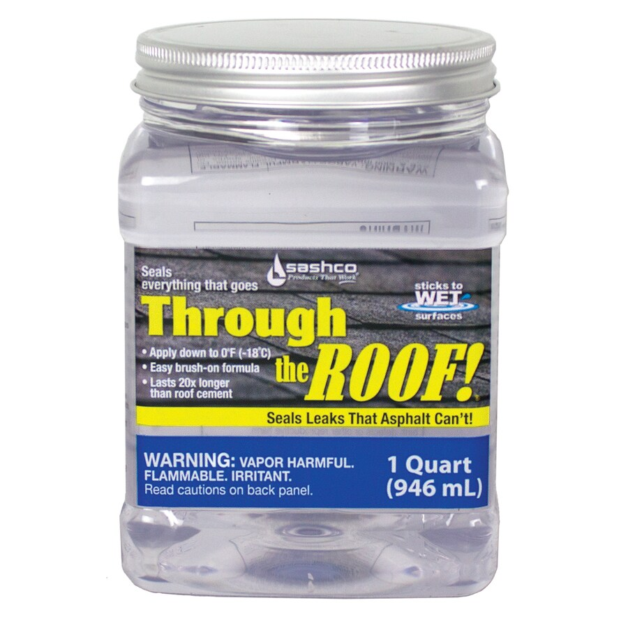 Through the Roof! 32-fl oz Clear Paintable Solvent-Based Specialty Caulk
