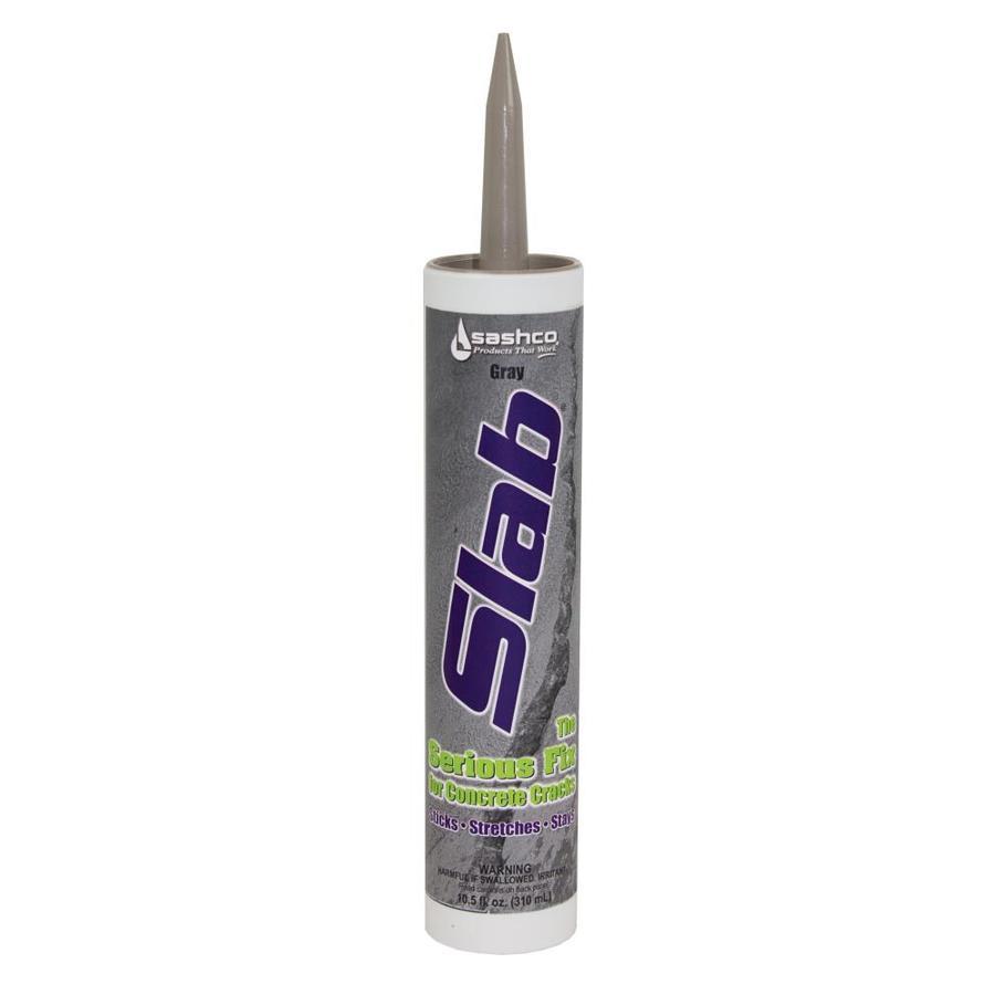 Slab 10.5-fl oz Gray Sanded Paintable Latex Specialty Caulk