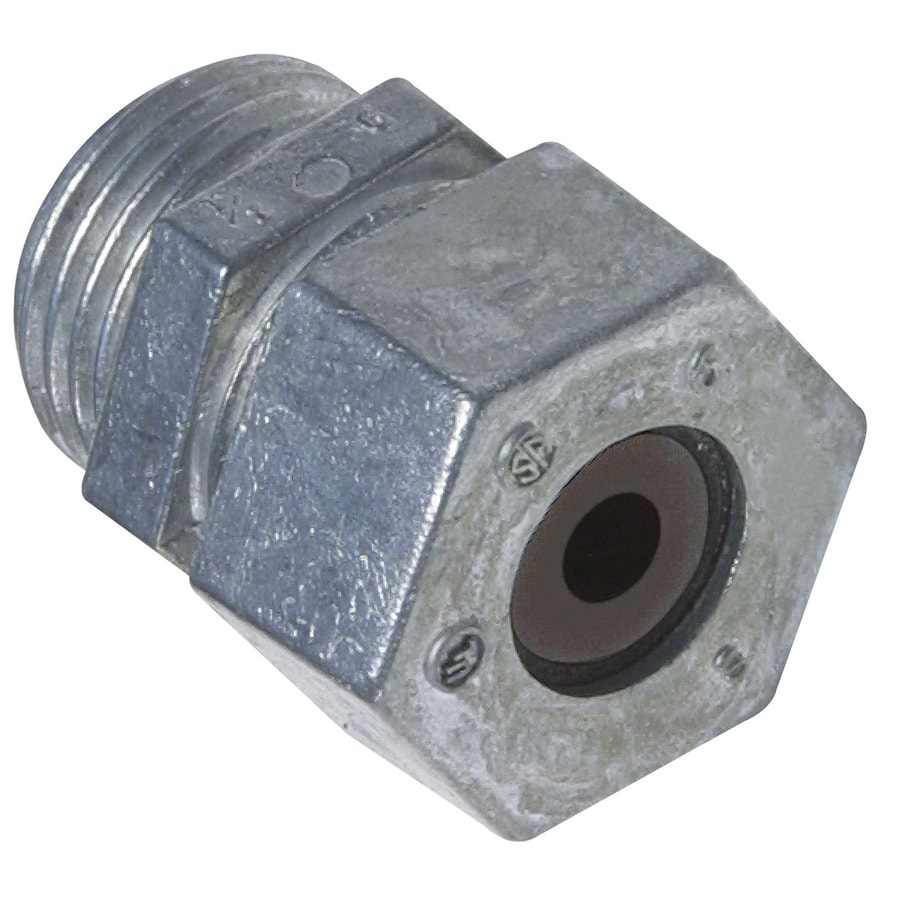 Gampak 1/2-in BX-MC-Flex Connector