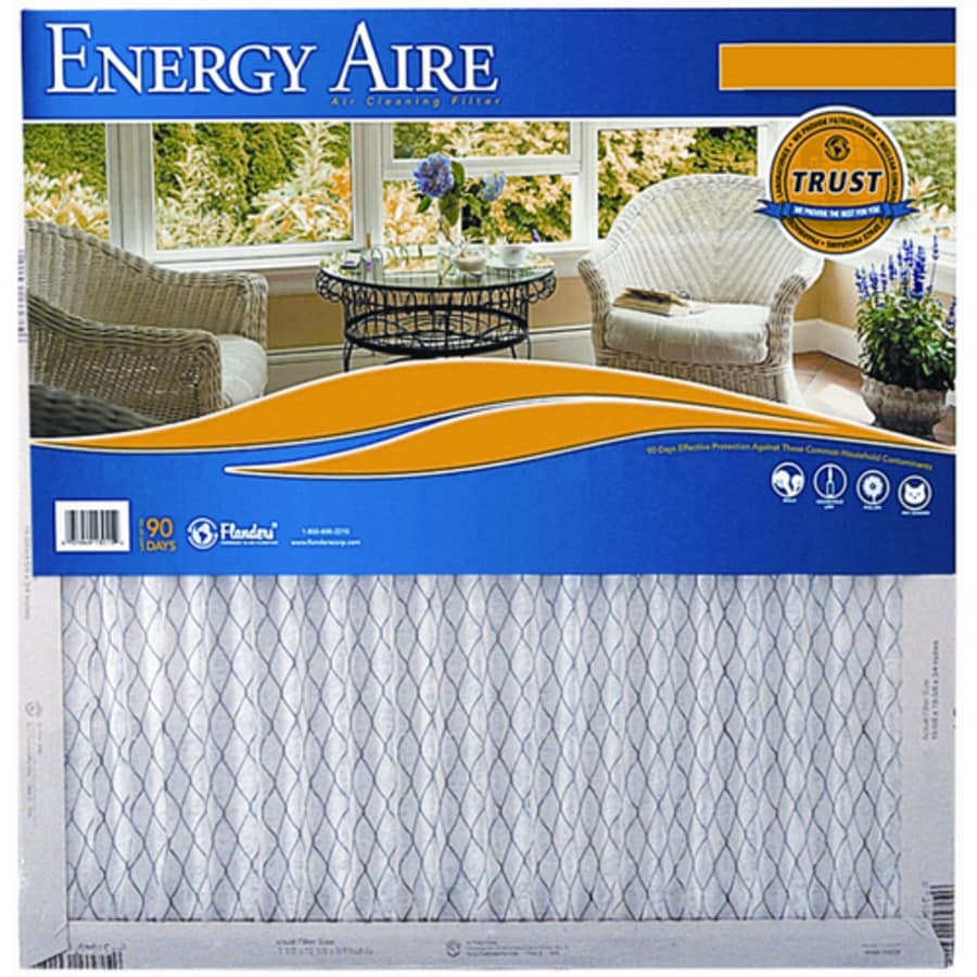 Energy Aire 17-1/2-in x 19-1/2-in x 1-in Pleated Air Filter