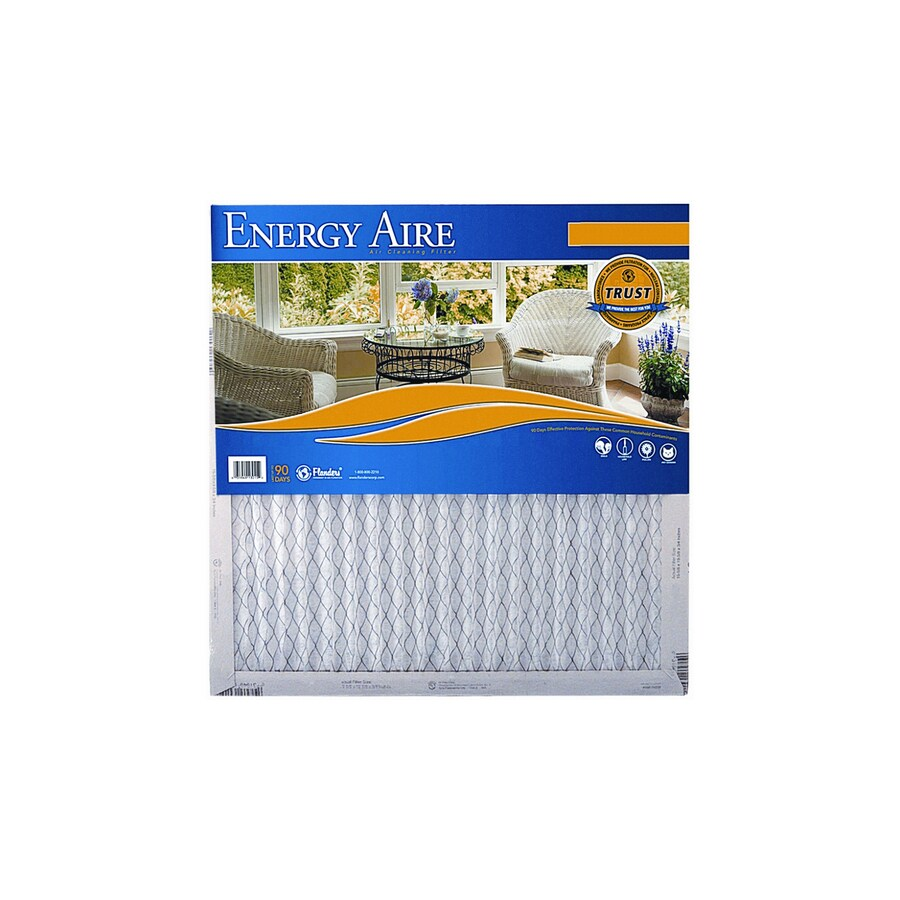 Energy Aire 21-in x 37-in x 1-in Pleated Air Filter