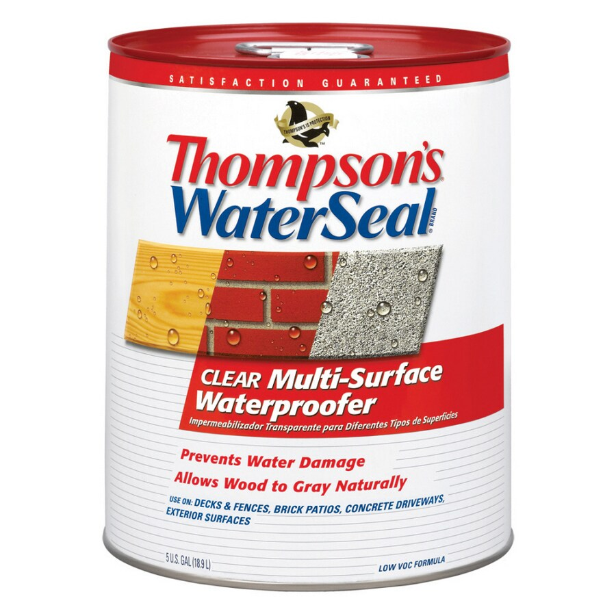 Thompson's WaterSeal 5-Gallon Wood Sealant