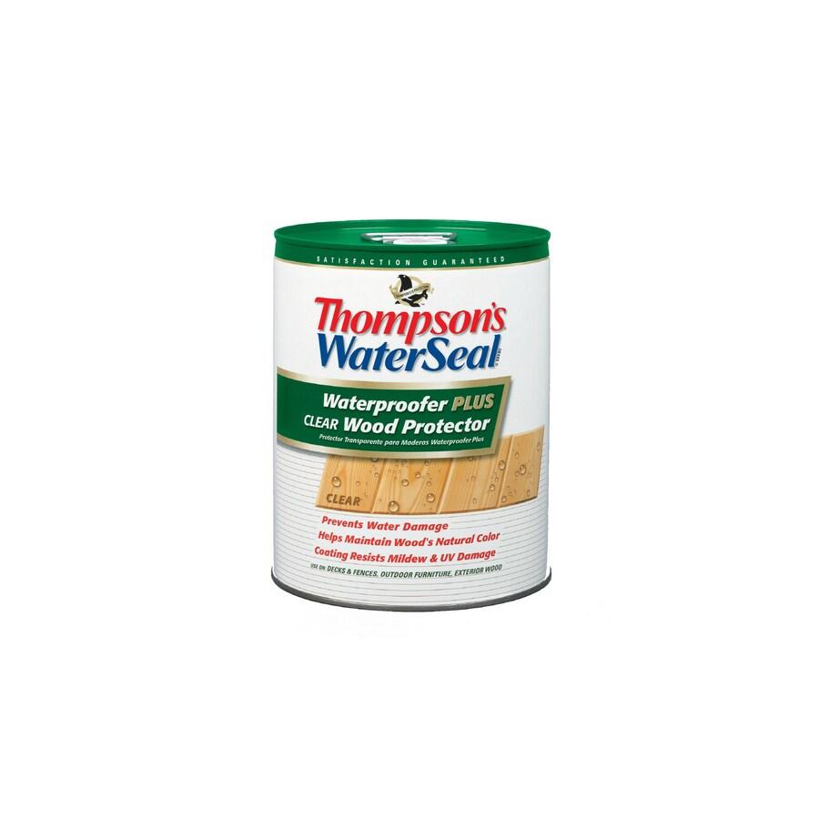 Thompson's WaterSeal Waterproofer Plus Clear Wood Protector