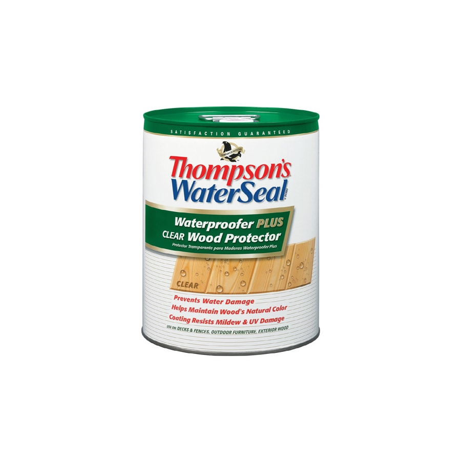 Thompson's WaterSeal Waterproofer Plus Clear Wood Protector - Low Voc