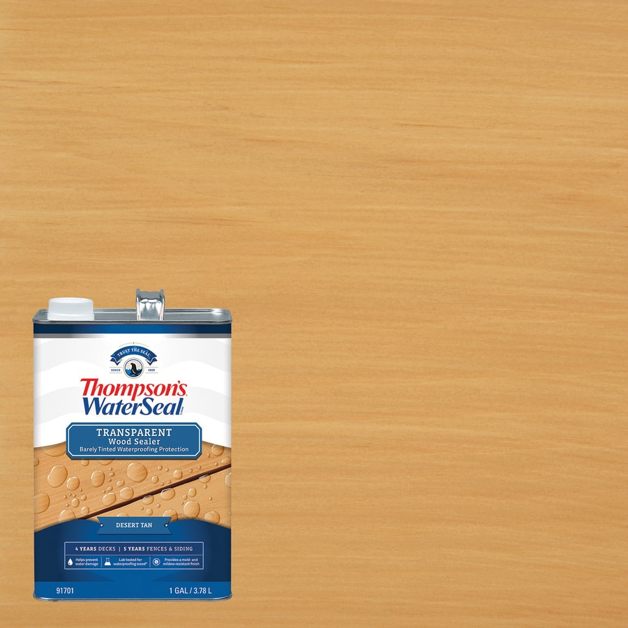 Thompson's WaterSeal Signature Pre-Tinted Timber Brown Toner Exterior Stain (Actual Net Contents: 128-fl oz)