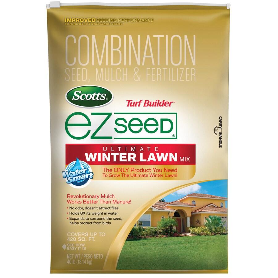 Scotts 40-lbs Turf Builder Ez Seed Ryegrass Lawn Repair Mix