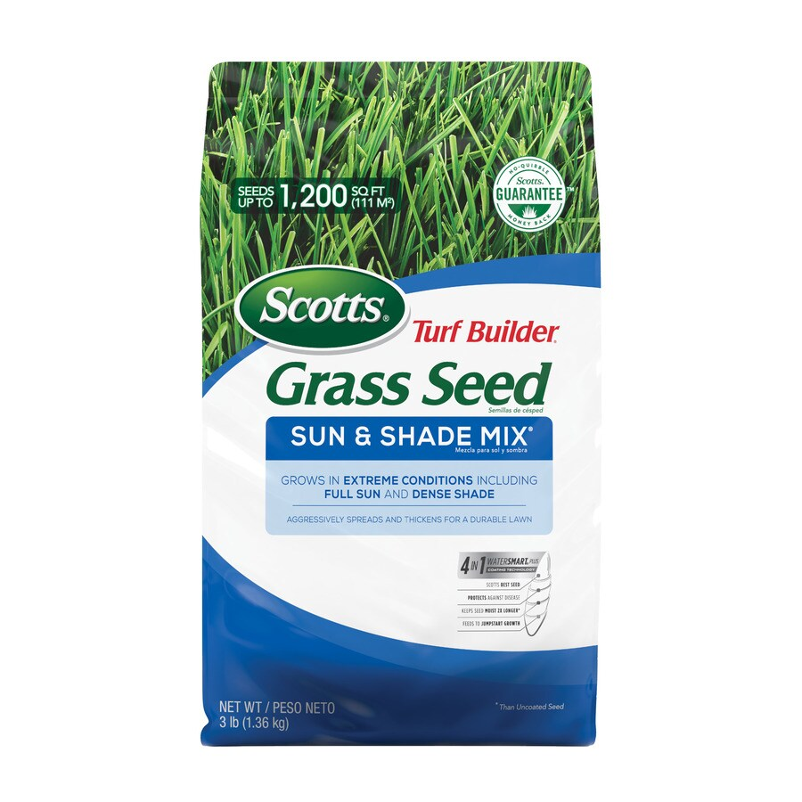 Scotts Turf Builder 3-lb Sun and Shade Grass Seed