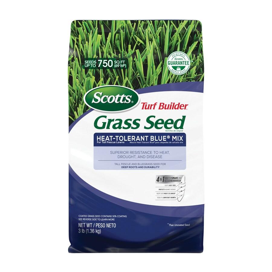 Scotts Turf Builder Heat-Tolerant Blue Mix 3-lb Heat-Tolerant Blue Grass Seed