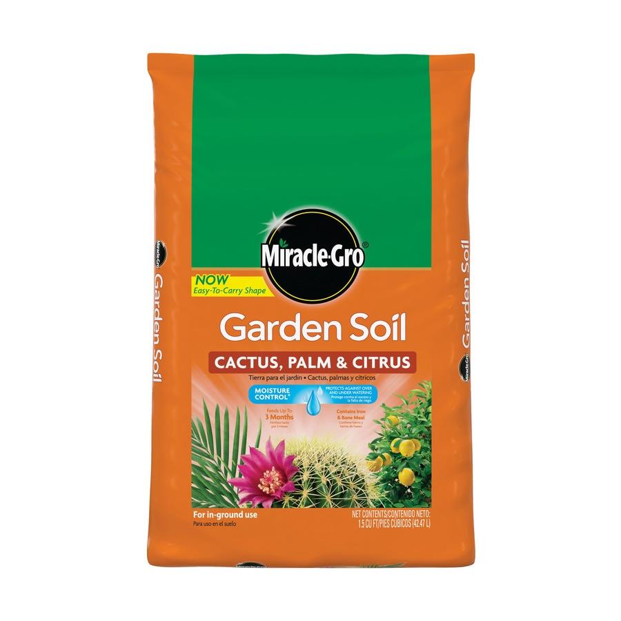 Miracle-Gro Garden Soil Cactus, Palm and Citrus 1.5-cu ft Palm and Citrus Soil