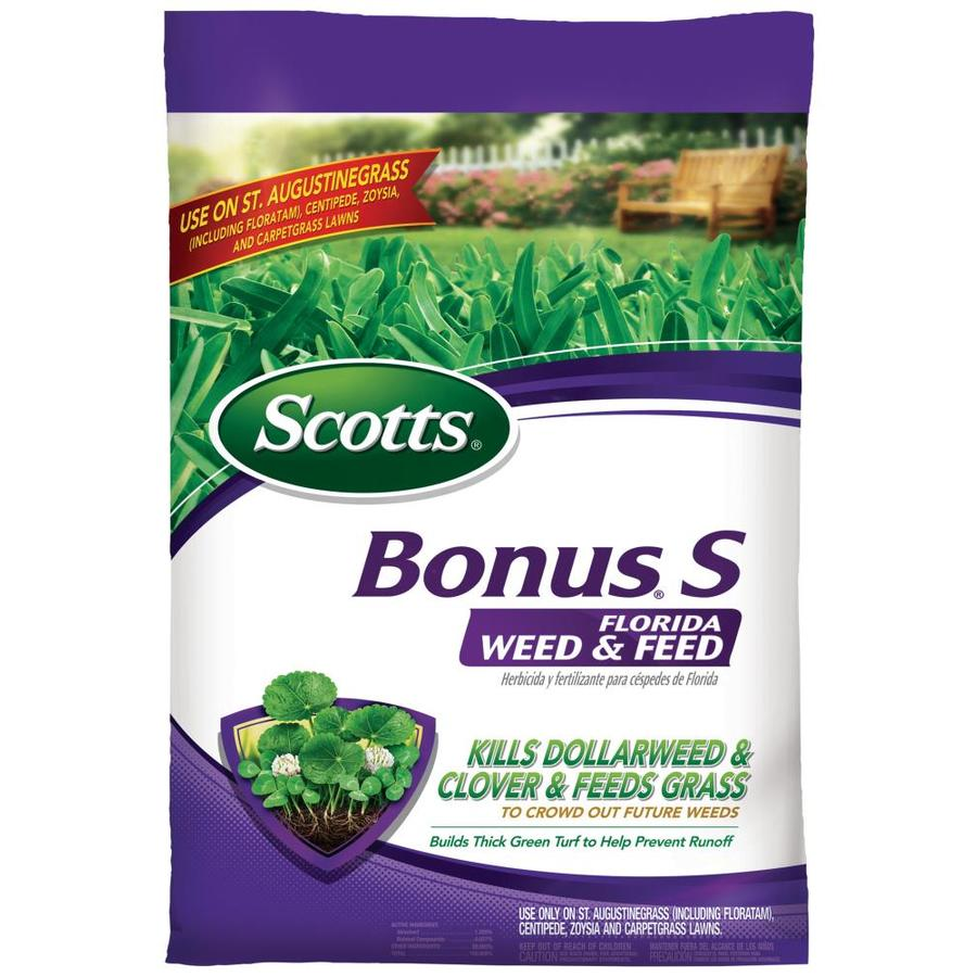 Scotts 10,000-sq ft Bonus S Southern Florida Weed and Feed Lawn Fertilizer (29-0-10)