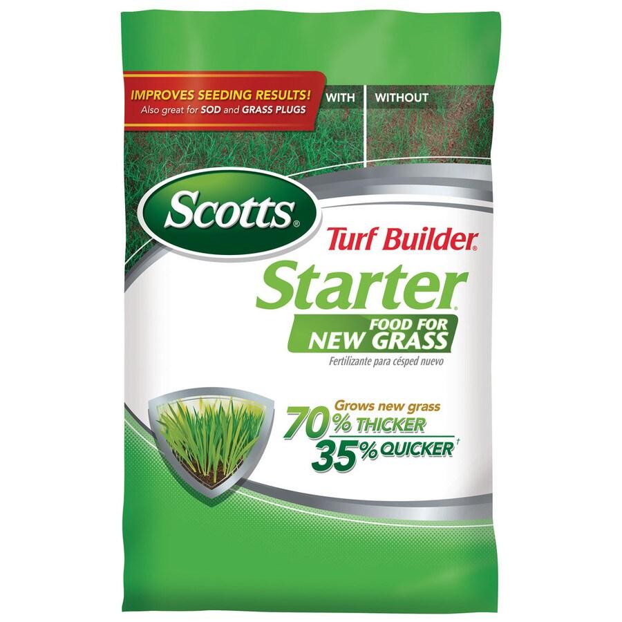 Scotts 5,000-sq ft Turf Builder Starter Lawn Fertilizer (24-25-4)