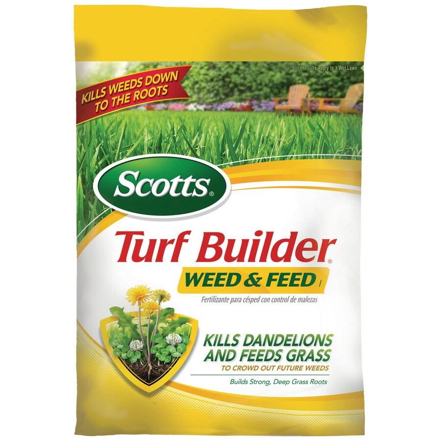 Scotts 15,000-sq ft Turf Builder Weed and Feed Lawn Fertilizer (28-0-4)