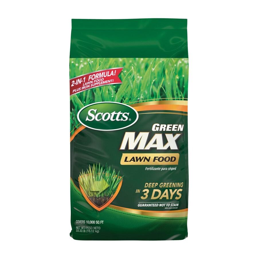 Scotts 10,000-sq ft Green Max Lawn Fertilizer (27-0-2)