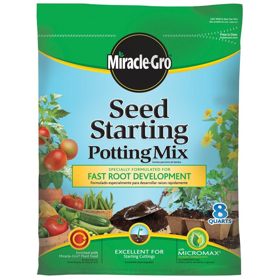 Miracle-Gro 8-Quart Seeding Soil