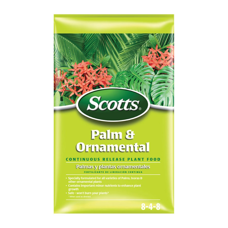 Scotts Palm and Ornamental 20-lb Tree and Shrub Food (8-4-8)