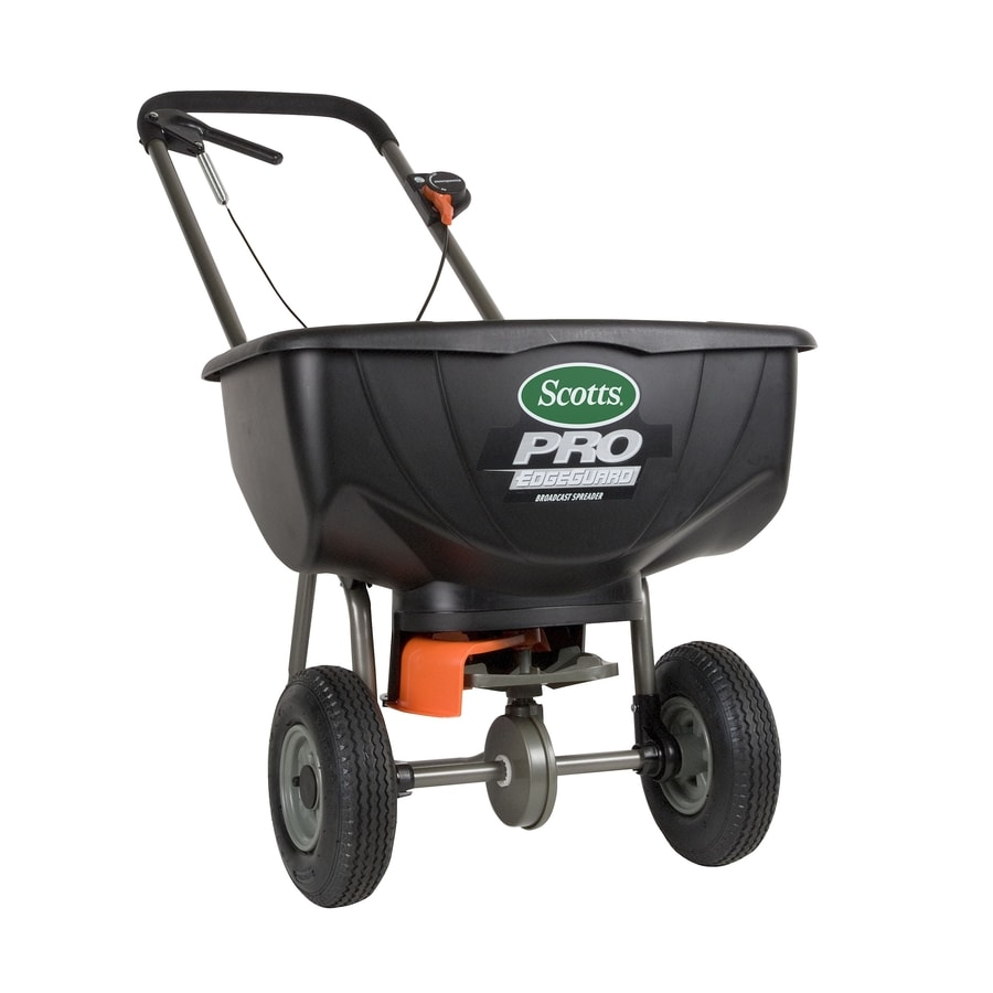 Scotts Pro EdgeGuard 46-lb Broadcast Spreader