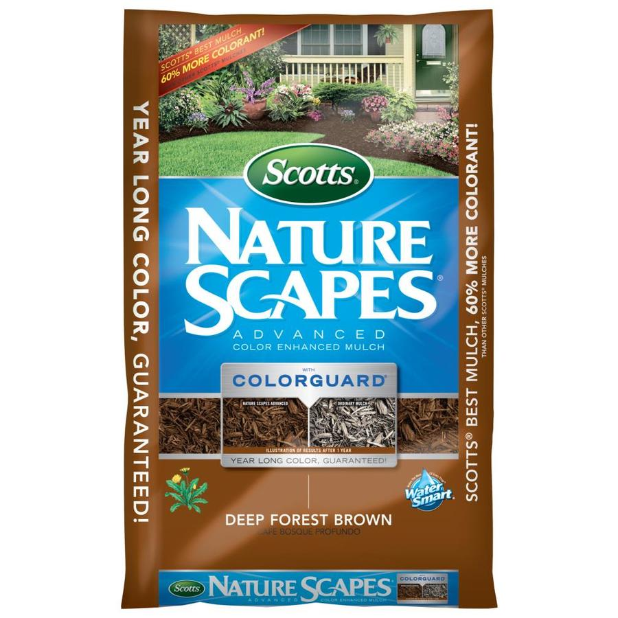 Scotts Nature Scapes Advanced 2-cu ft Dark Brown Hardwood Mulch
