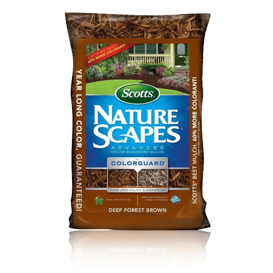 Scotts Nature Scapes Advanced 2-cu ft Dark Brown Bark Mulch