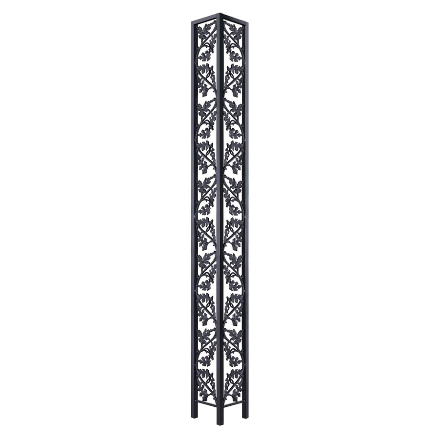 Shop gilpin oakwood 10 5 in x 8 ft painted steel corner for 10 foot porch columns