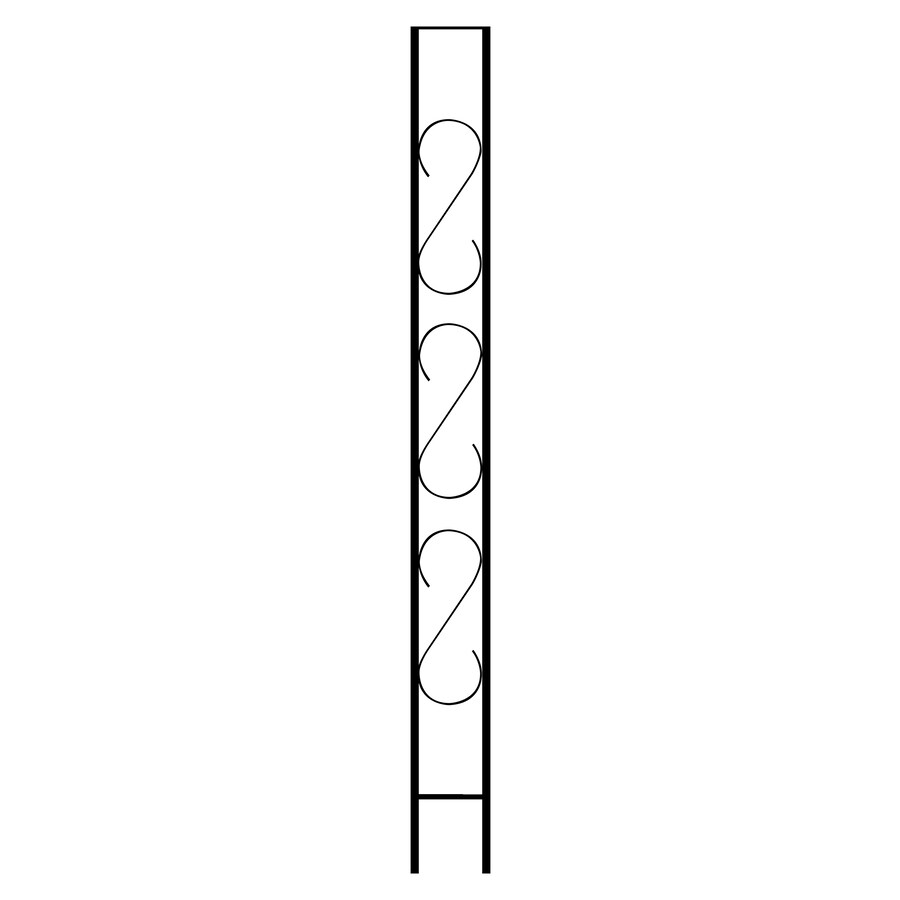 Gilpin Newport 9.5-in x 8-ft Painted Steel Flat Column