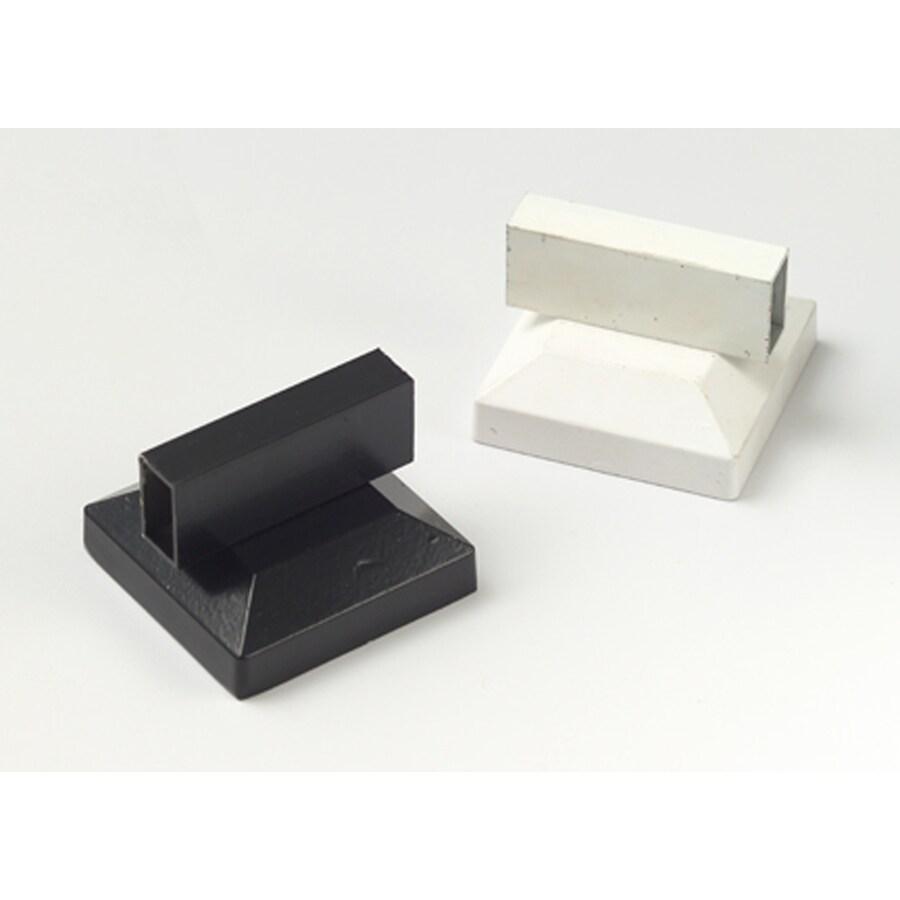 Gilpin 3-Piece Black Aluminum Porch Cross-Over Cap