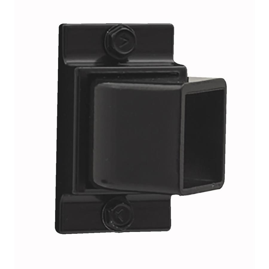 Gilpin Standard Black Aluminum Fence Swivel Bracket