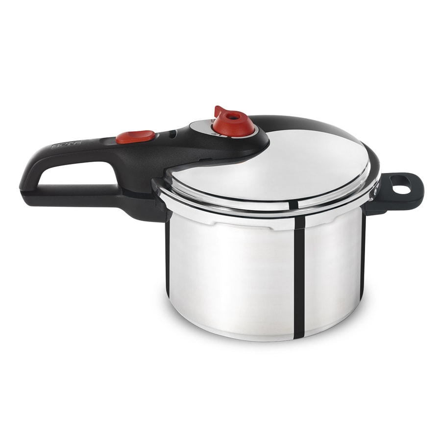 Shop T-fal 6.3-Quart Stainless Steel Stove-Top Pressure ...