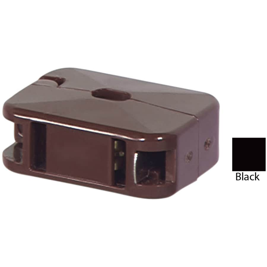 Cooper Wiring Devices 10-Amp 125-Volt Black 2-Wire Connector