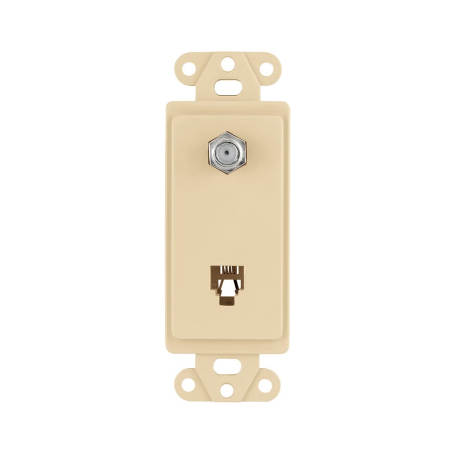Cooper Wiring Devices 1-Gang Ivory Wall Plate