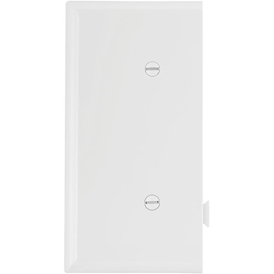 Eaton 1-Gang White Blank Wall Plate