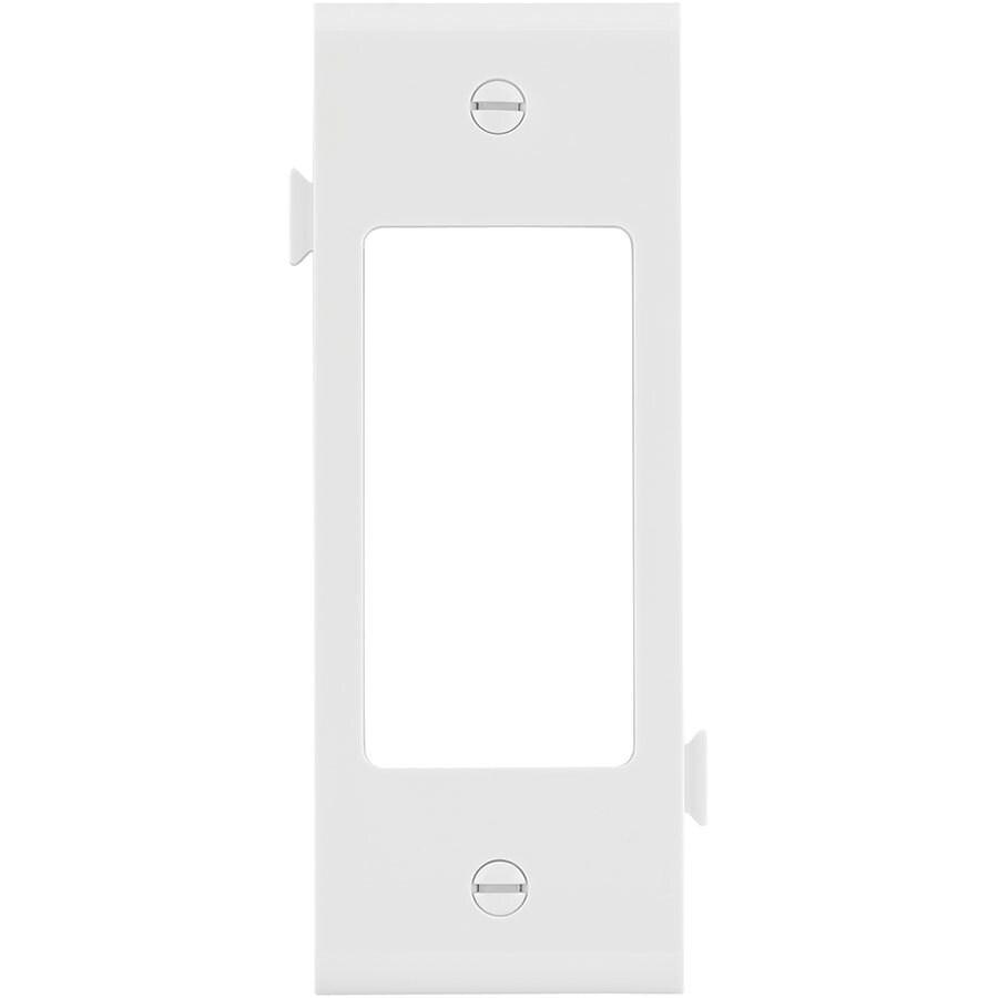 Eaton 1-Gang White Decorator Wall Plate