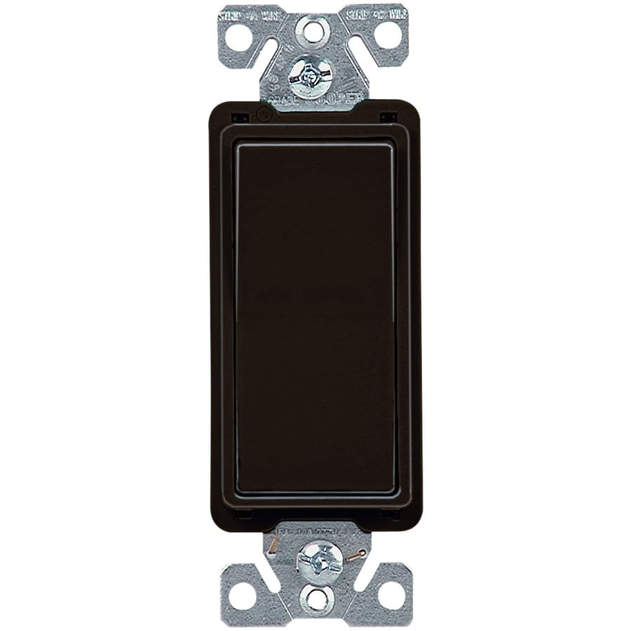 Cooper Wiring Devices 4-Way Black Light Switch