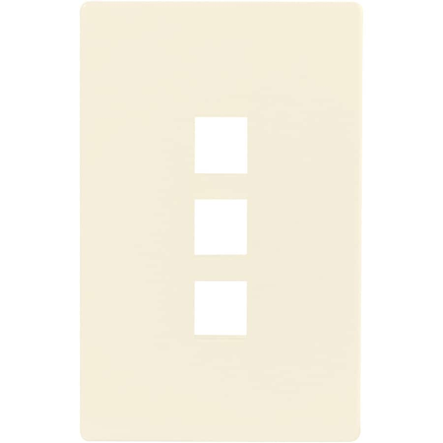 Cooper Wiring Devices Aspire 1-Gang Desert Sand Screwless Wall Plate