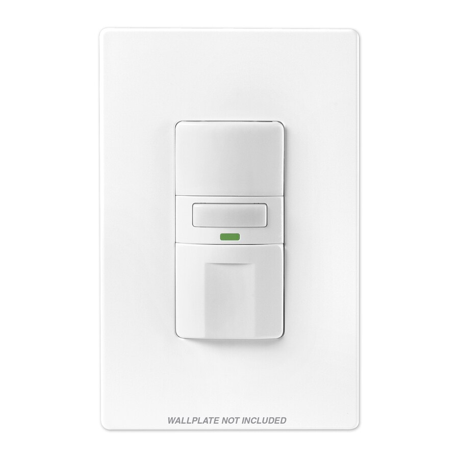 Cooper Wiring Devices White Motion Light Switch