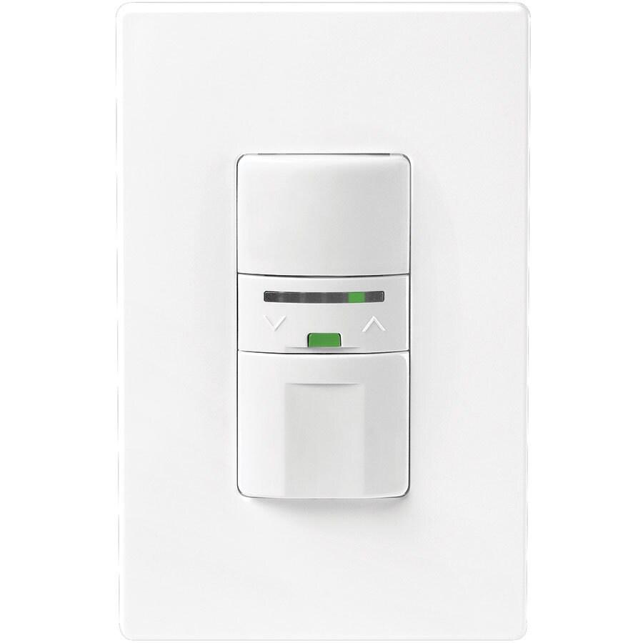 Eaton 600-Watt Single Pole Color Change Kit Indoor Push Occupancy Sensor
