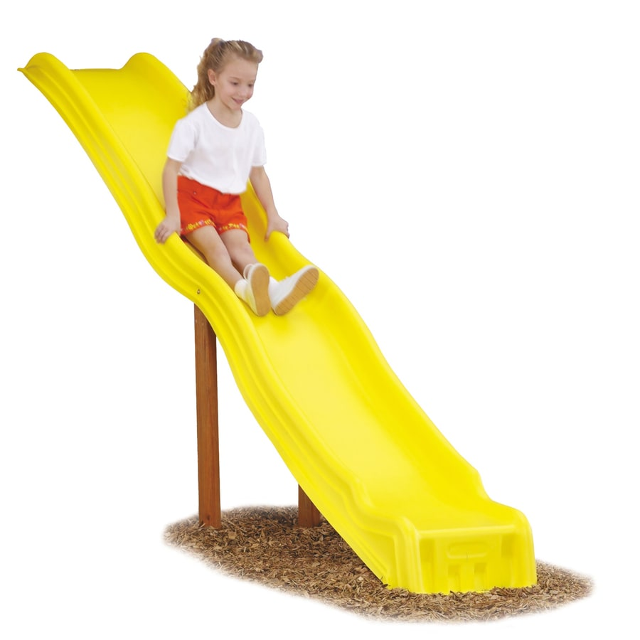 Swing-N-Slide Giant Cool Wave Yellow Slide