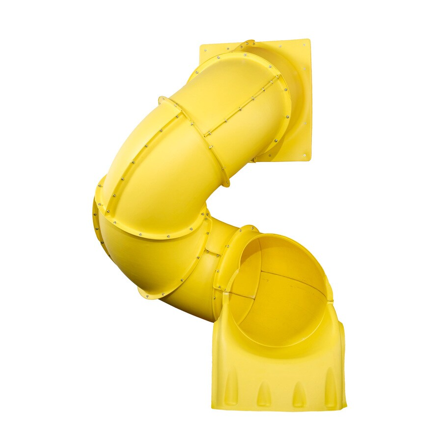 Swing-N-Slide 5-ft Turbo Tube Yellow Slide