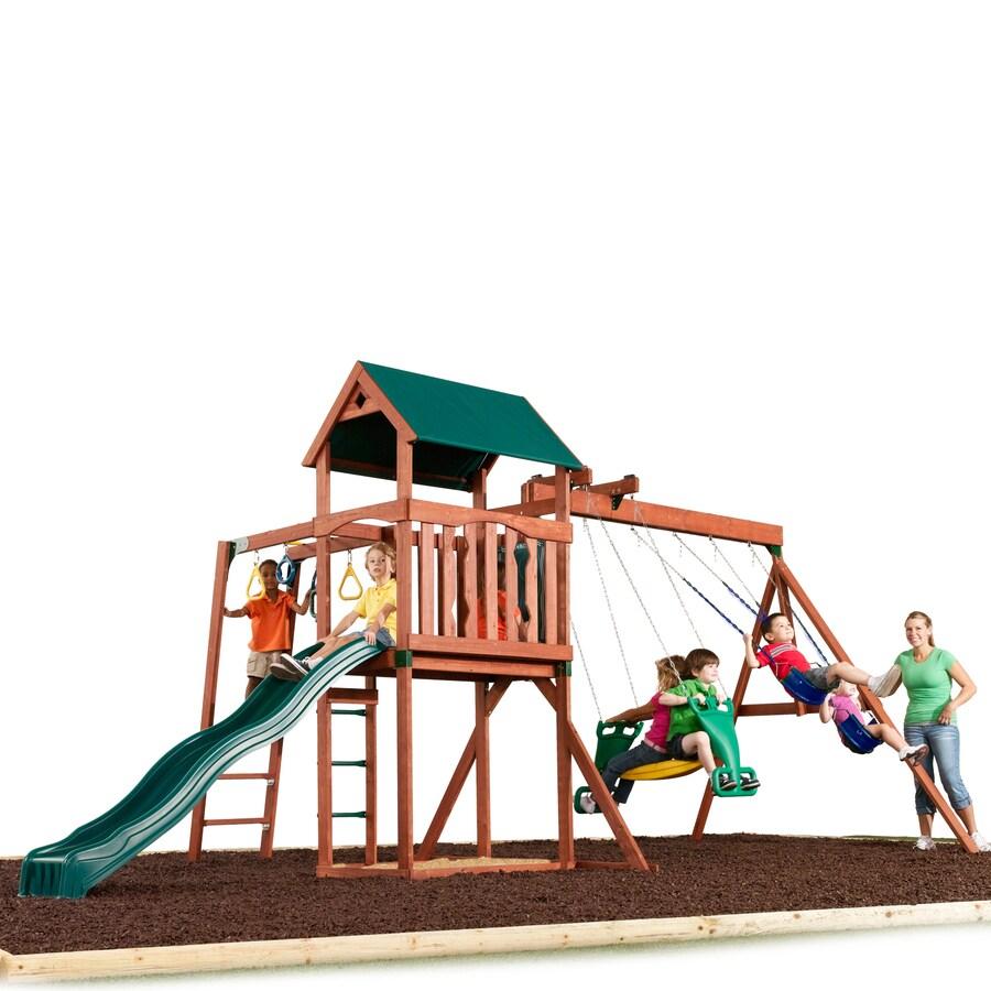 Swing-N-Slide Glenwood Express Residential Wood Playset