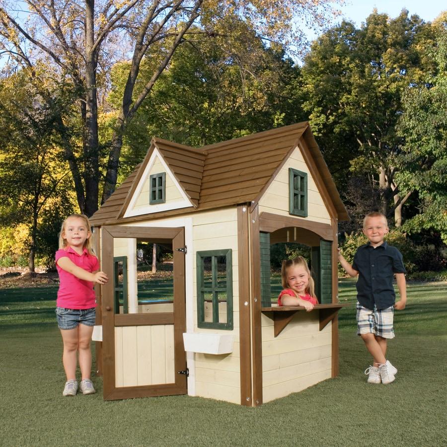 Swing-N-Slide Wood Standard Playhouse Kit